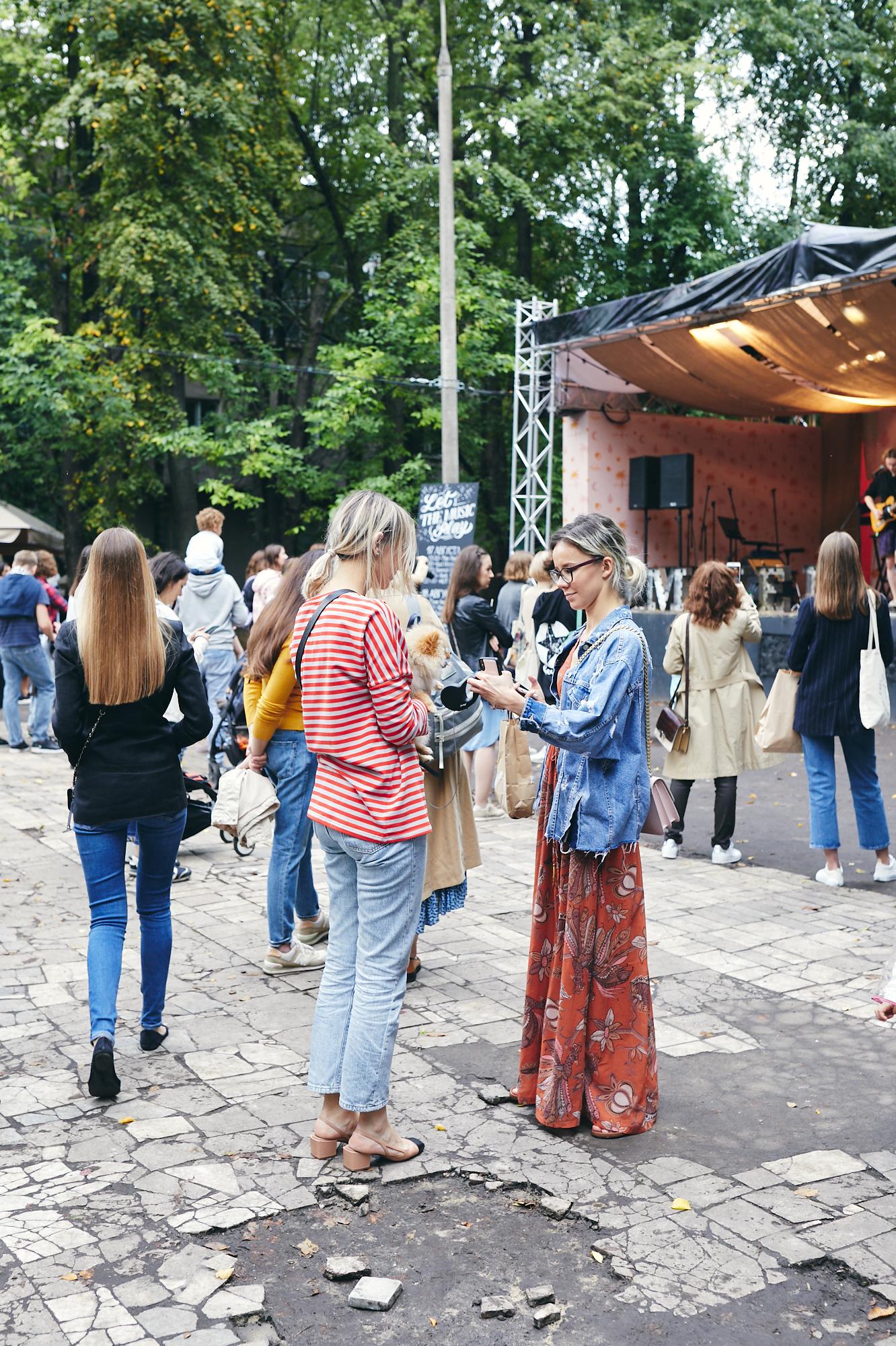 Посетители фестиваля Veter Summer Fest