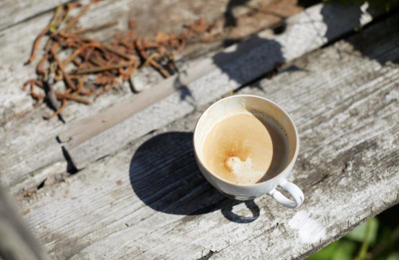 Одно жаркое летнее утро с кофе и ржавыми гвоздями.