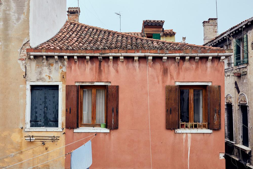 Кот на крыше. Венеция