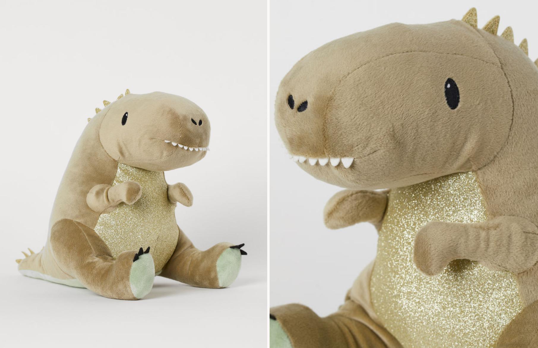 Динозавр, имя неизвестно. Скриншот с сайта H&M Home