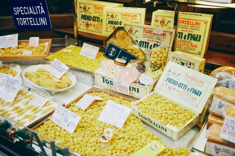 Болонья, рынок в центре города