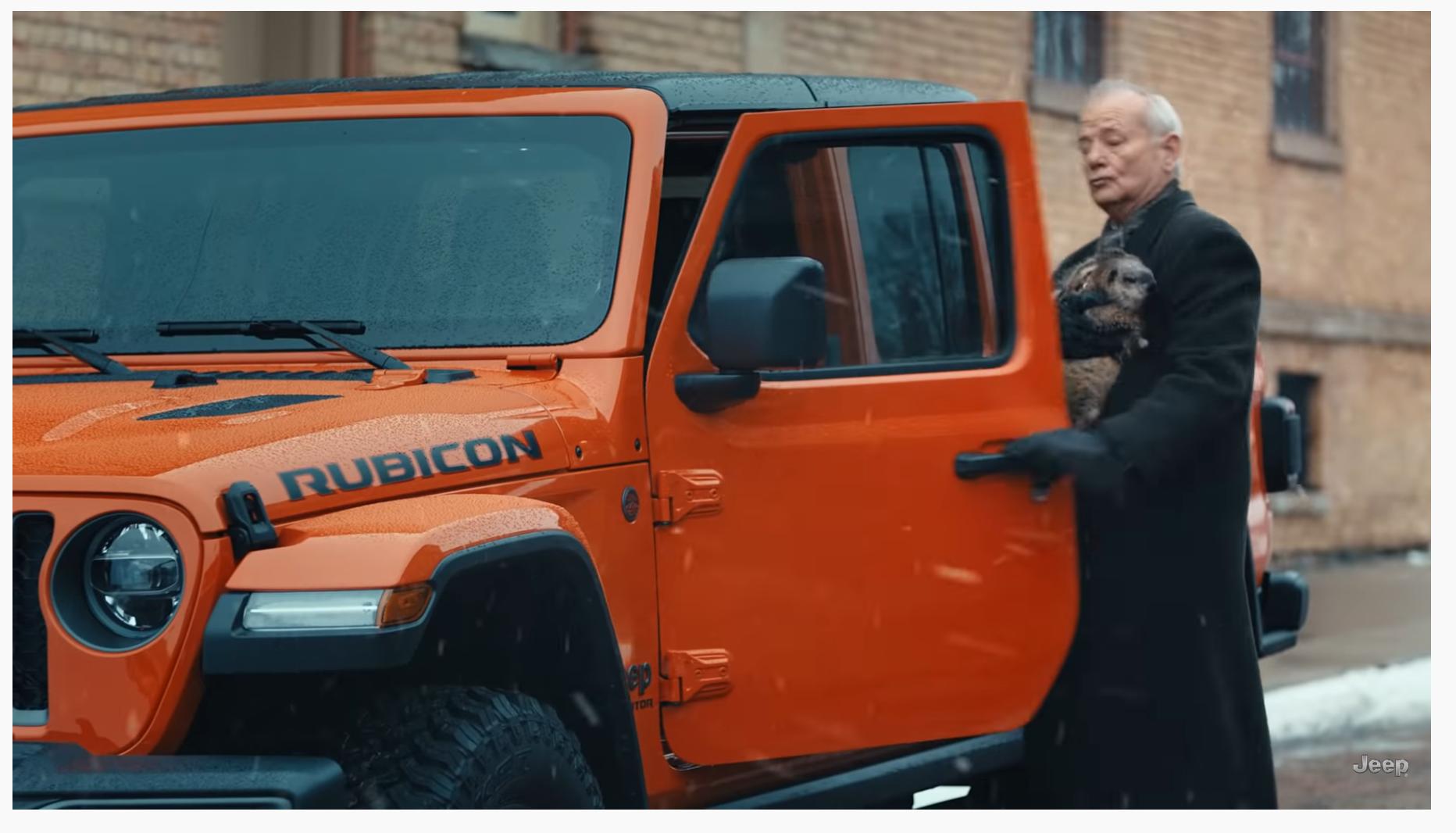 Скриншот ролика Jeep на youtube.com