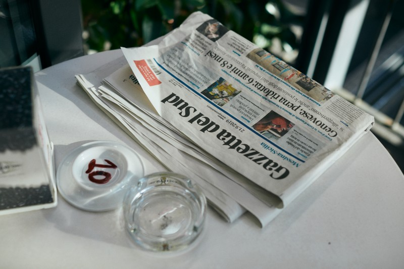 Итальянская газета