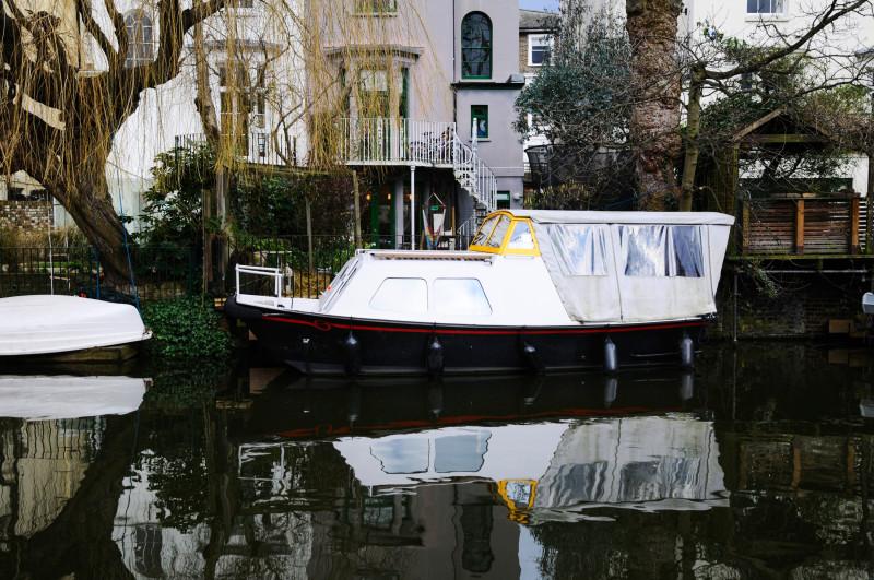 Лондон, жизнь на воде