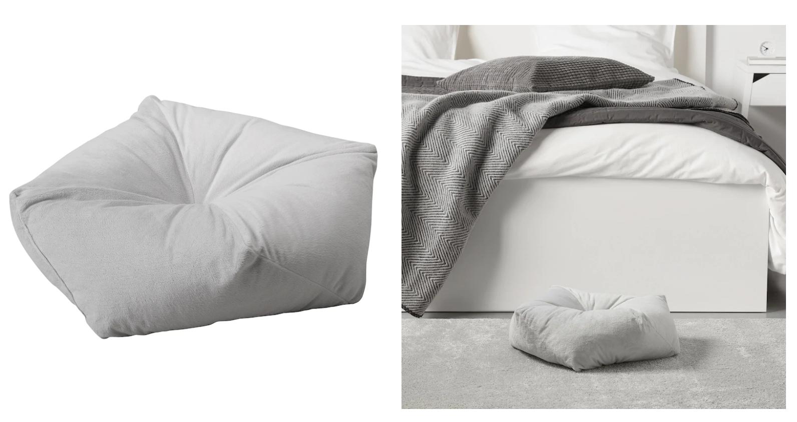 Подушка для питомца LURVIG ЛУРВИГ, скриншот с сайта IKEA.ru