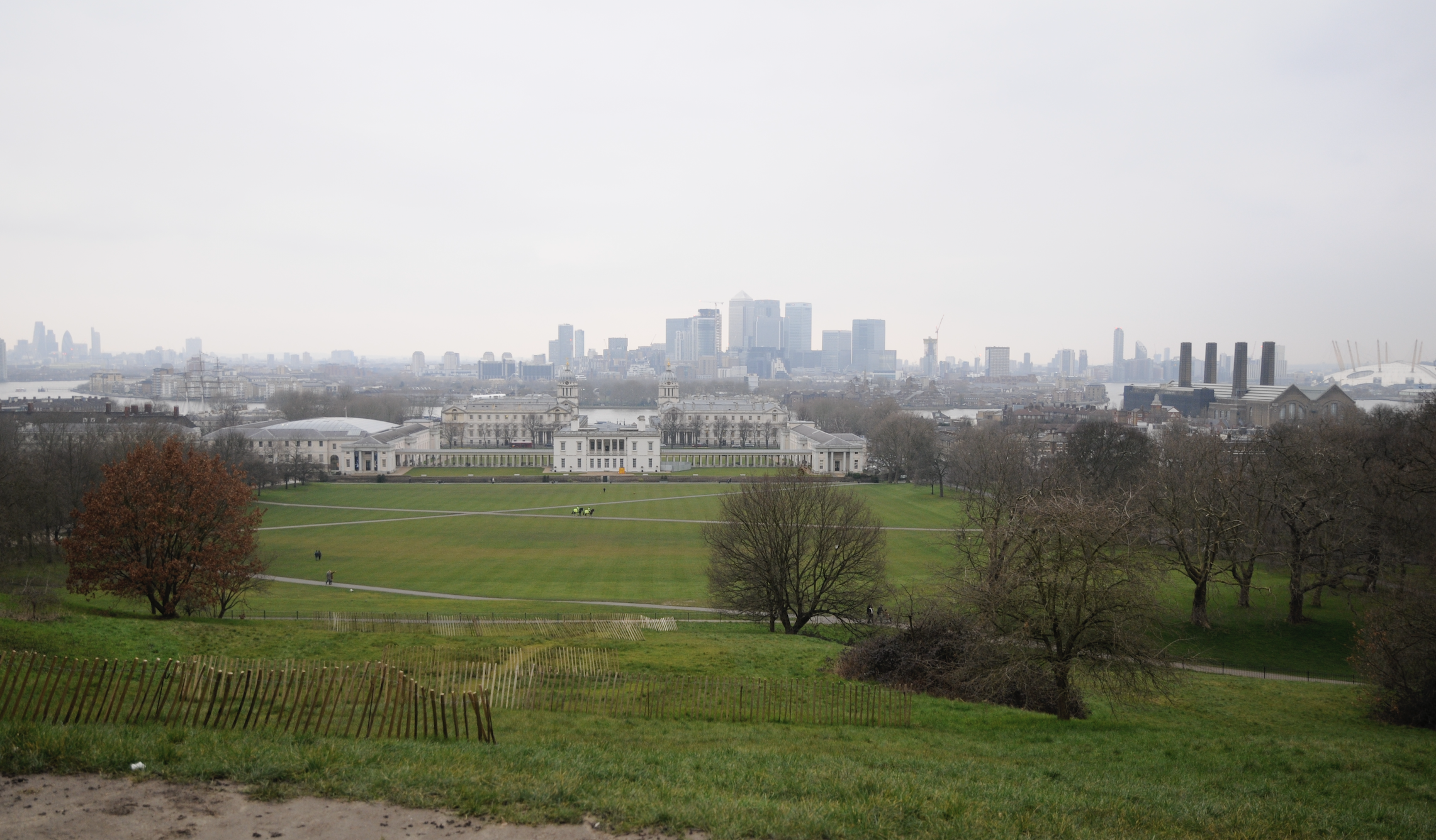 Лондон, парк в Гринвиче