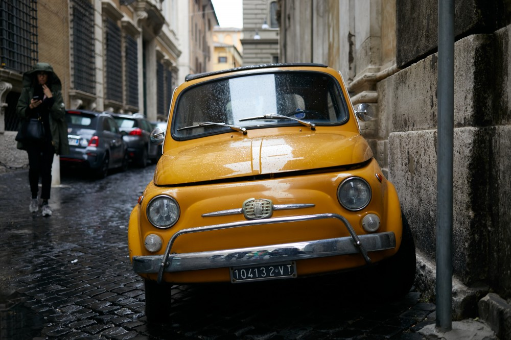 FIAT 500, Рим