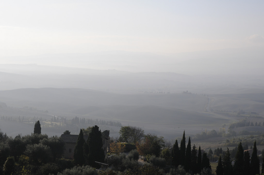Tuscany, a view form Pienza