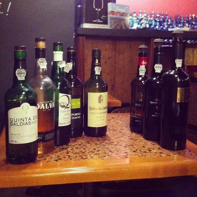 Дегустационный набор. #vinologia #porto #oporto #portugal