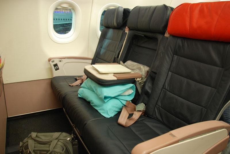 кресло бизнес-класс турецкие авиалинии