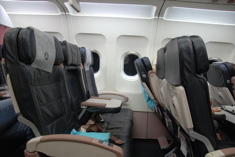 business class seats