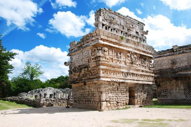 пирамиды индейцев майя