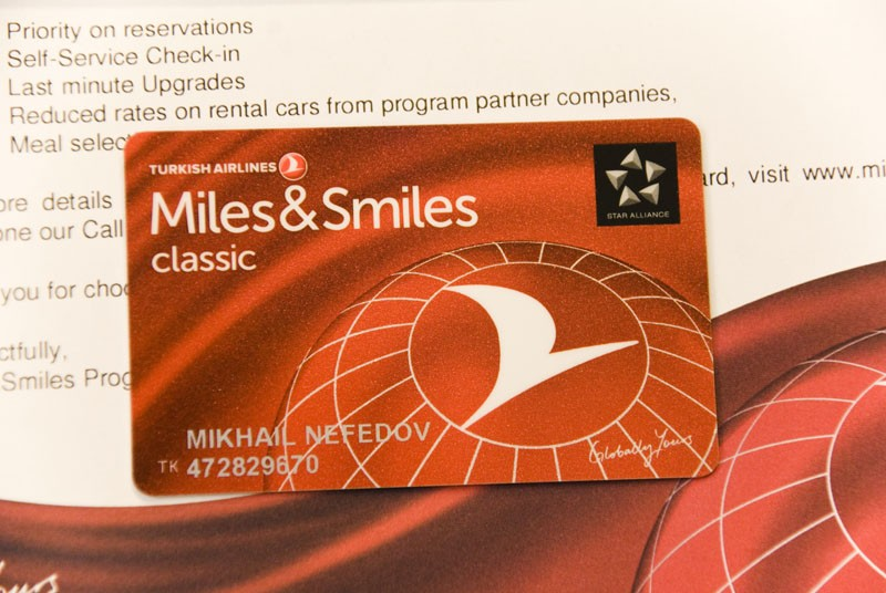 miles & smiles turkish airlines