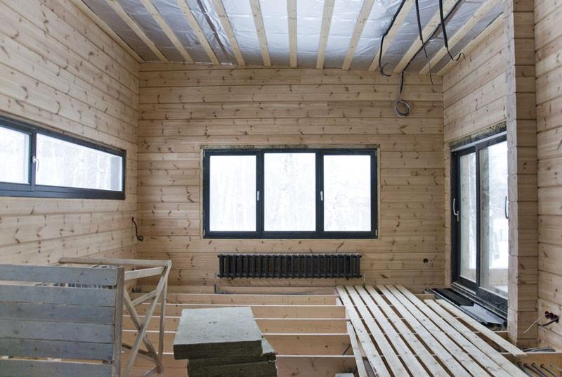 окна в спальне