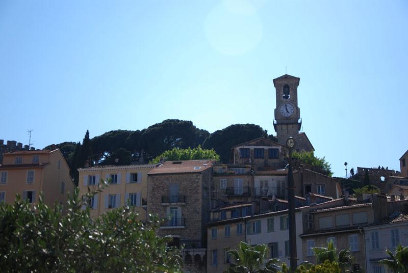 часы на старой башне