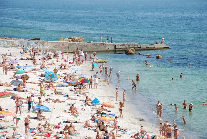 городской пляж Одессы