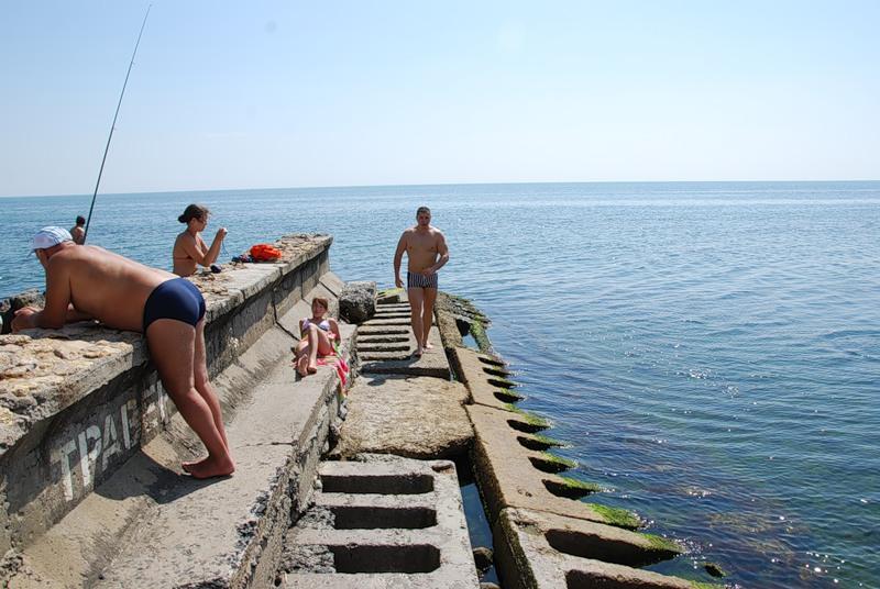 пляж одесса