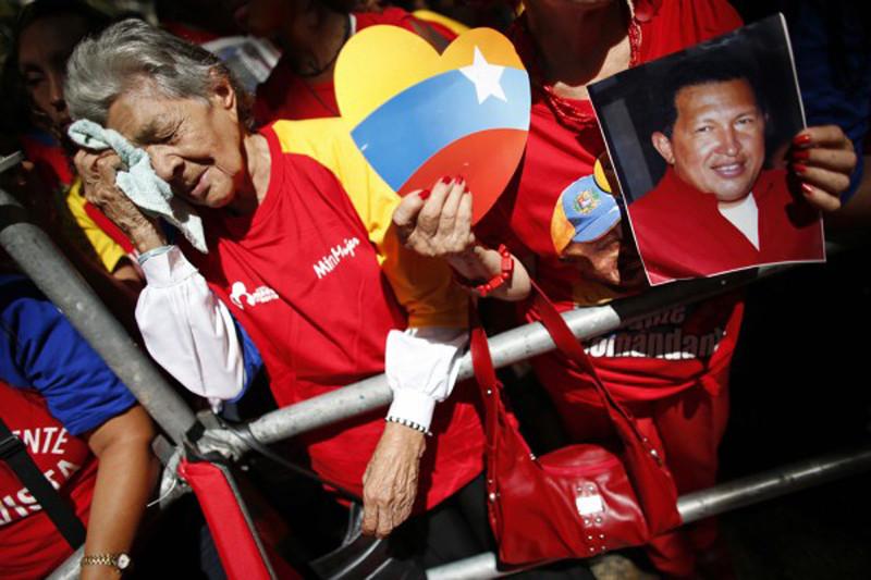 чавес умер
