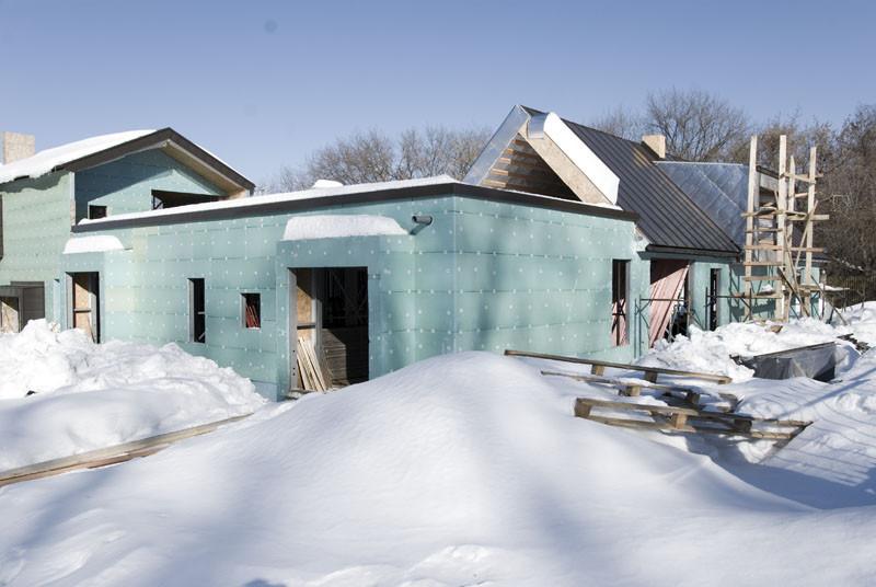 метало-каркасный дом