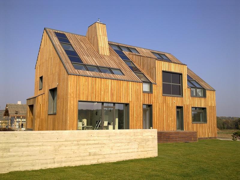 бетонный забор умного дома