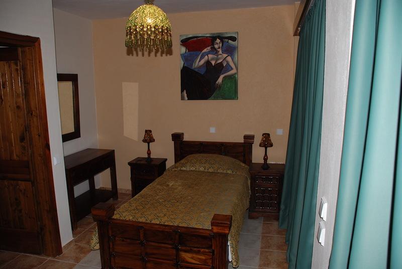 спальная комната вилла