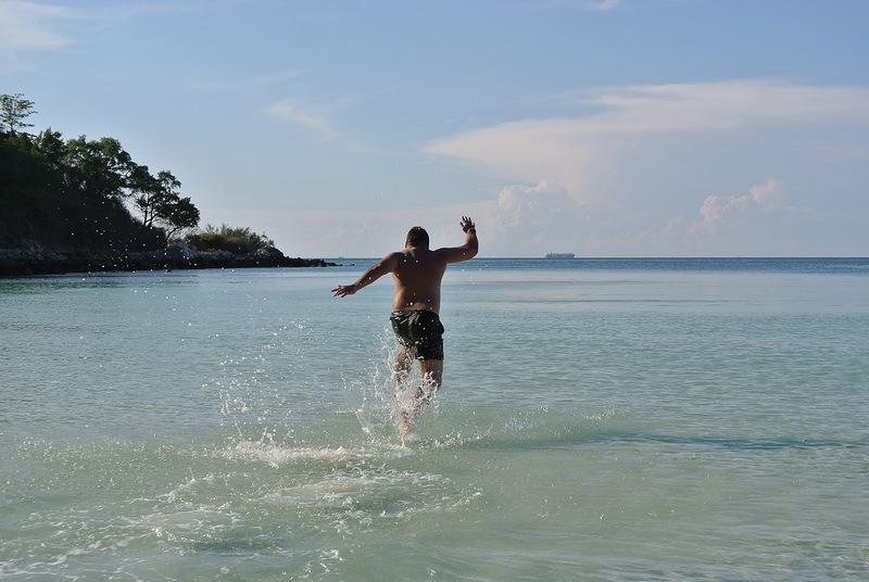 ходьба по воде