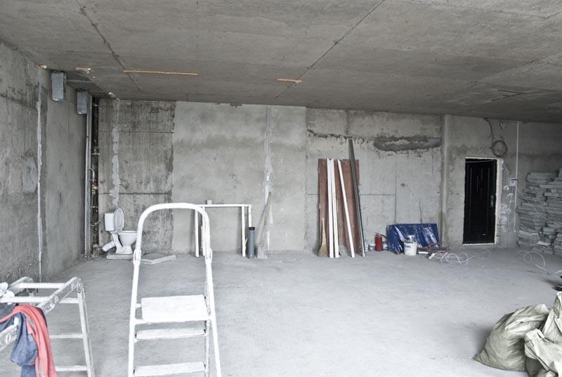 квартира до ремонта