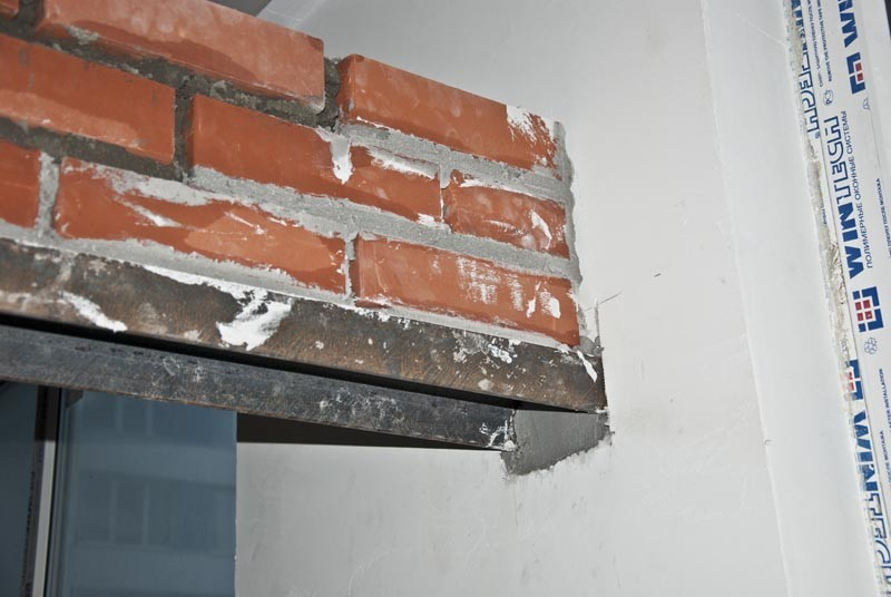 балка в стене