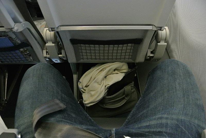 место для ног