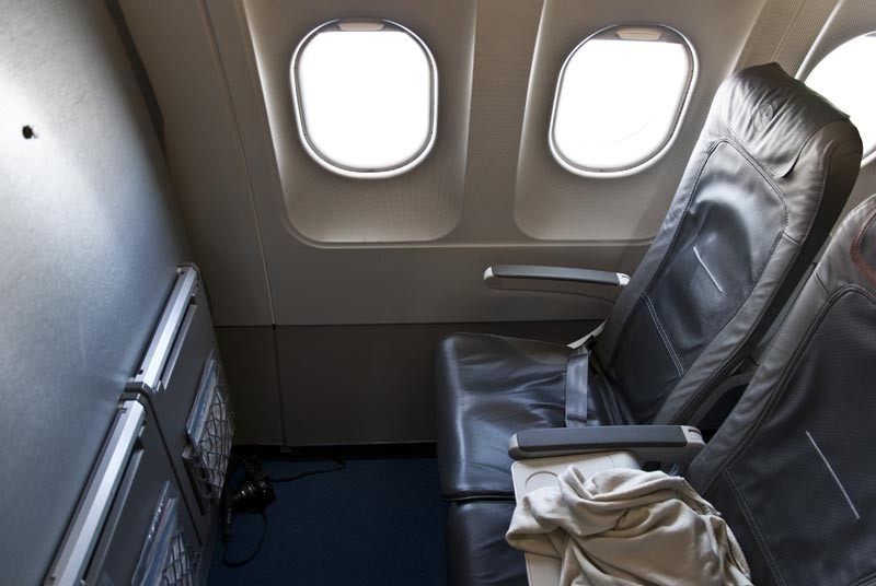 бизнес кресло в самолёте люфтганза а 321
