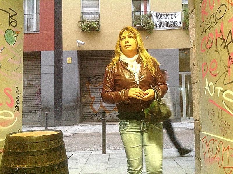 уличная проститутка