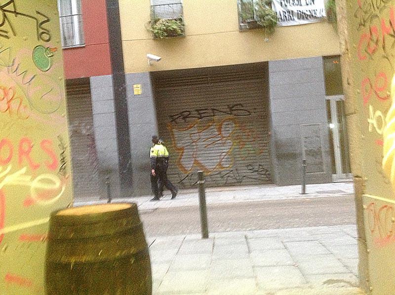 полицейские патрулируют