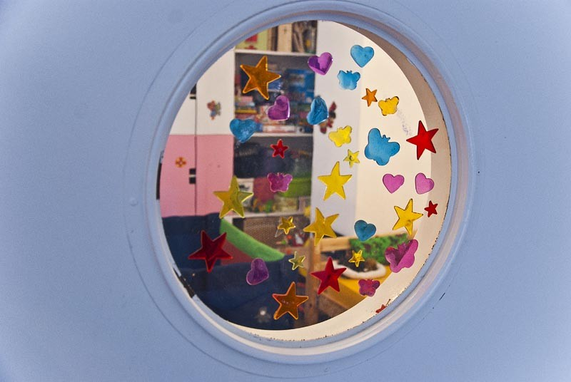 лофт детская комната