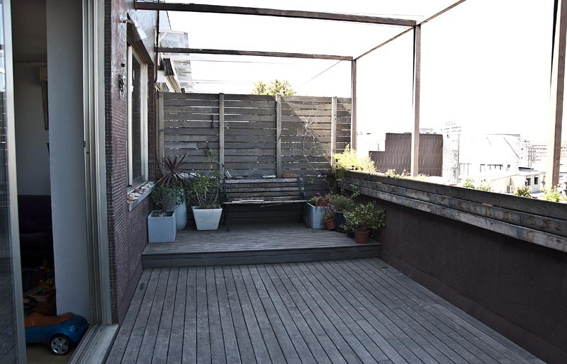 балкон лофт
