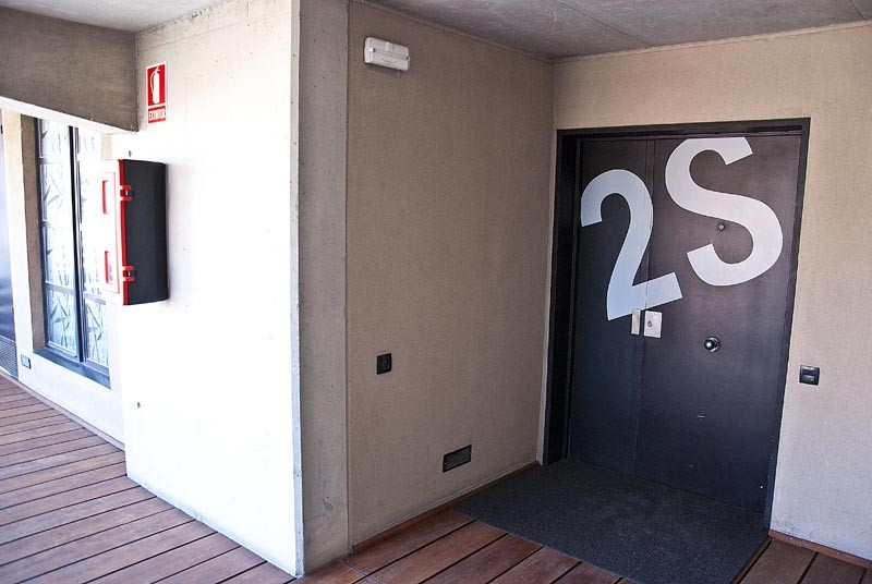 входная дверь лофт