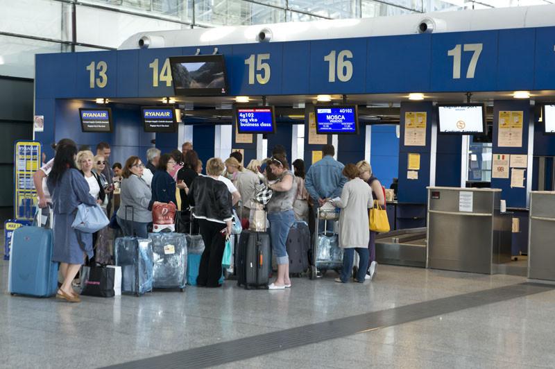 стойка бизнес аэропорт