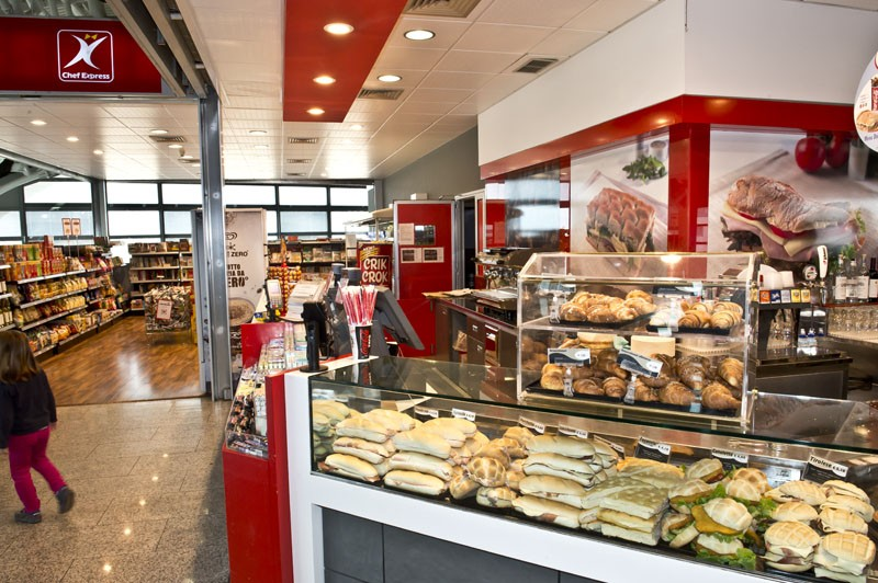 кафе аэропорт сардинии