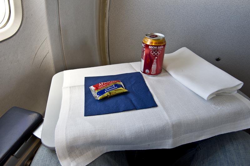 напитки после взлёта