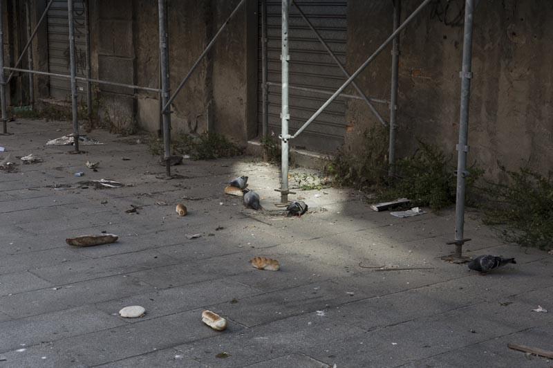 мусор на улицах европы