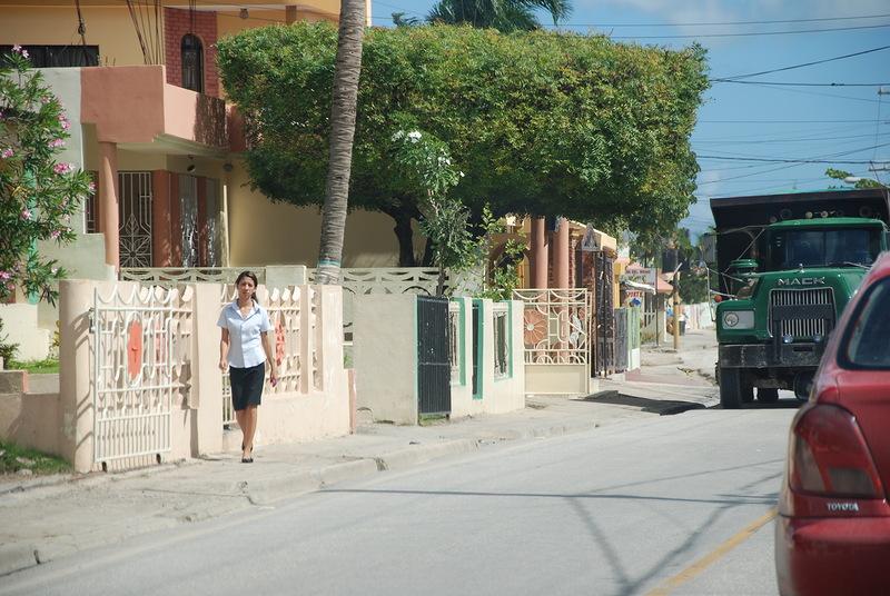 девушка улица