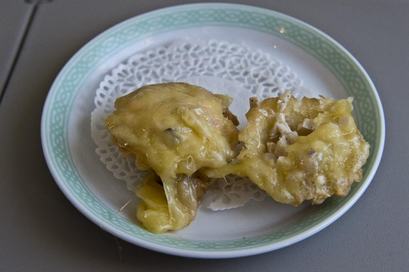 сырные тарталетки
