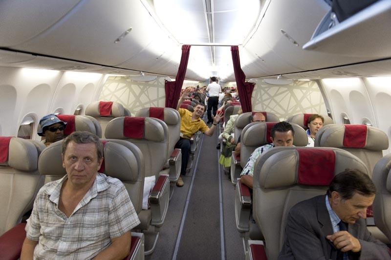 business class boeing 737