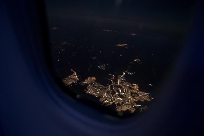 ночной полёт