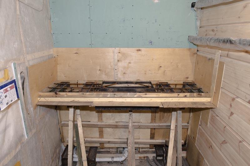 бетонный умывальник