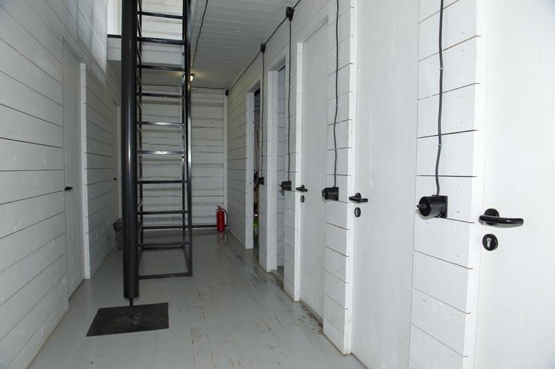 коридор казарма