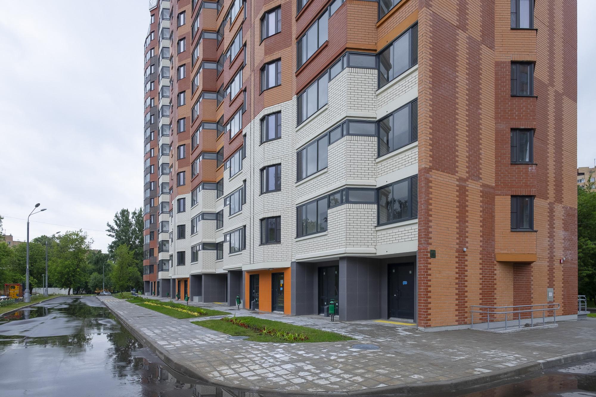 Новые серии домов по реновации