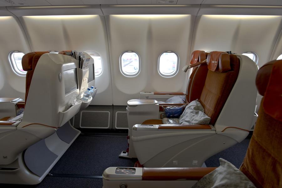 кресло бизнес класса аэробус 330