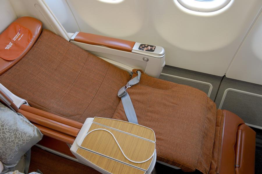 бизнес класс кресло аэрофлот