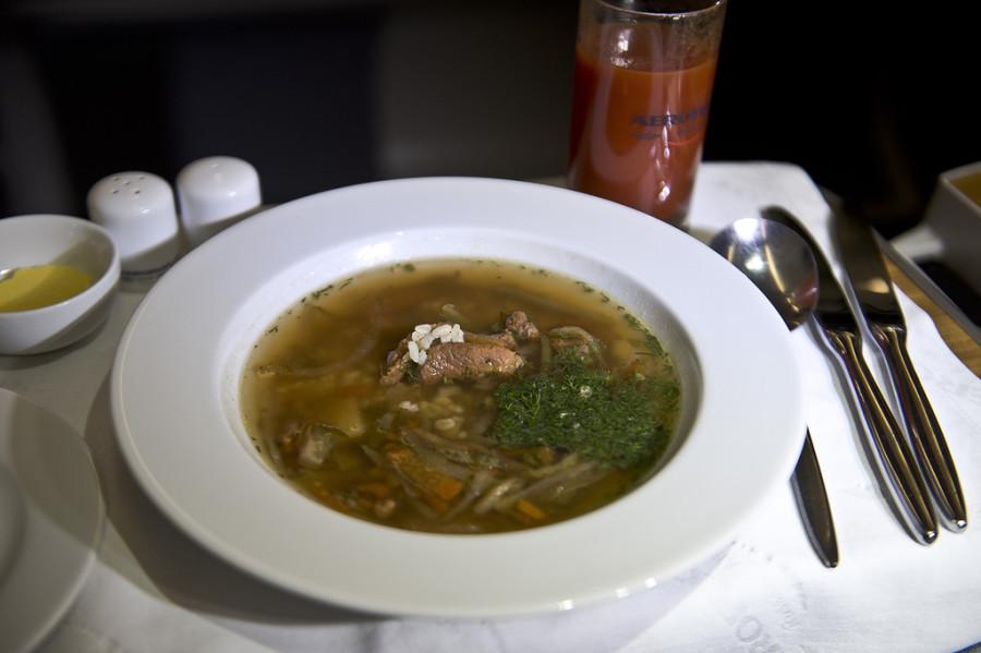суп аэрофлот бизнес класс