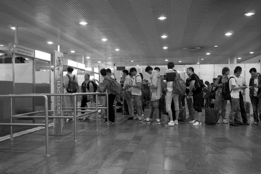 аэрофлот бизнес класс паспортный контроль